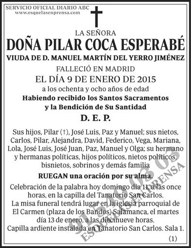 Pilar Coca Esperabé